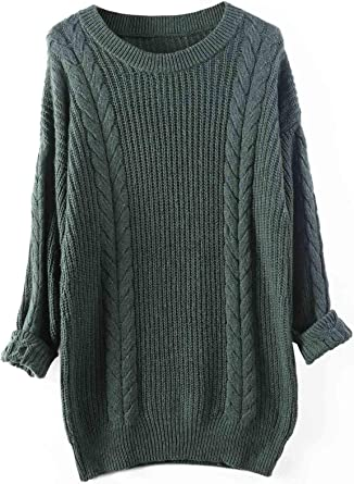 Liny Xin Jersey Suéter para Mujer de Cachemira Cuello Alto de Manga Larga Ligero Otoño e Invierno de Punto