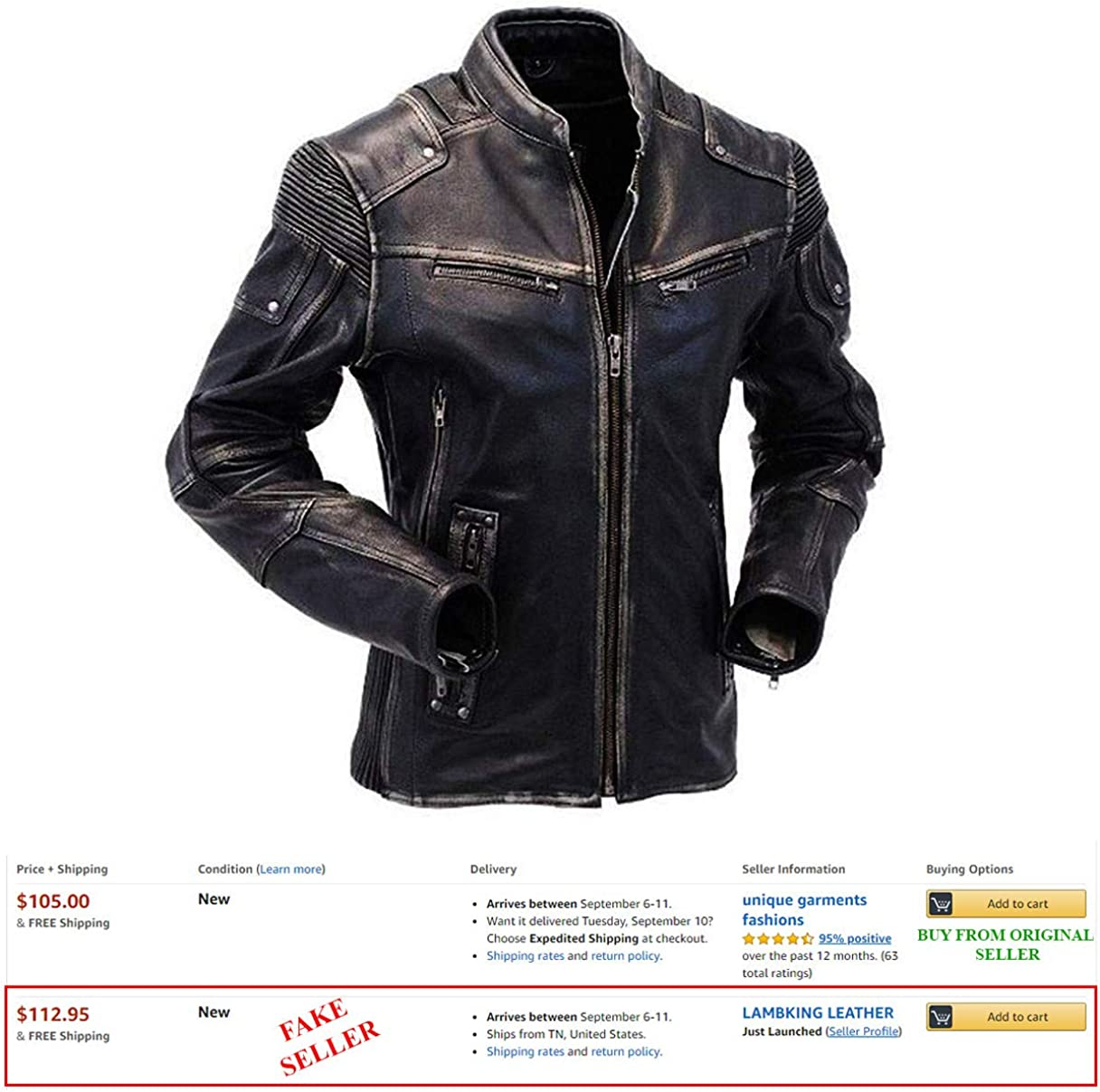 Men/'s Brando Motorcycle Biker Black Real Leather Jacket Perfect All sizes NEW