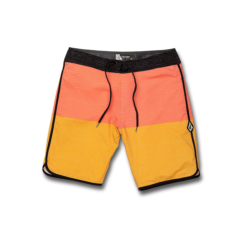 Volcom Mens Lido Scallop Mod 20 Swim Briefs