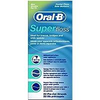 Oral B SuperFloss Seda Dental sin Cera (1