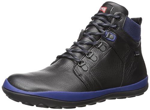 Camper Peu Pista, Botines para Hombre, Negro (Black 001), 46 EU: Amazon.es: Zapatos y complementos