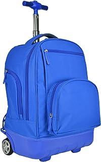 Pacific Gear Treasureland Hybrid Sac à Dos léger, Bleu (Bleu) - PG03070N Travelers Choice
