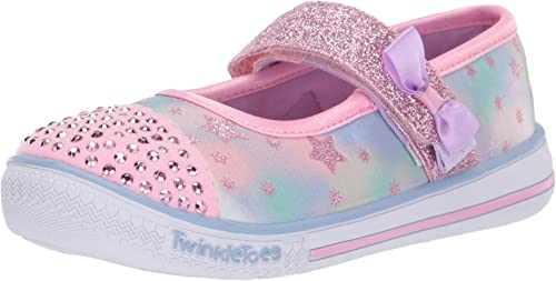 20140N Skechers Girls Twinkle Toes Starry Sparks Light Up
