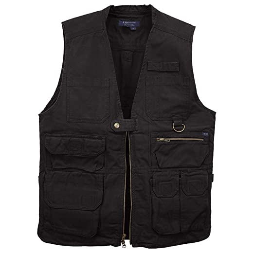 Vest Pockets 80001 Ccw 5 11 WorkStyle Conceal Outdoor Lightweight With 17 Dual For Tactical Carry L5j43AR