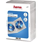 Hama - coques dobles pour DVD (5 unités), transparent