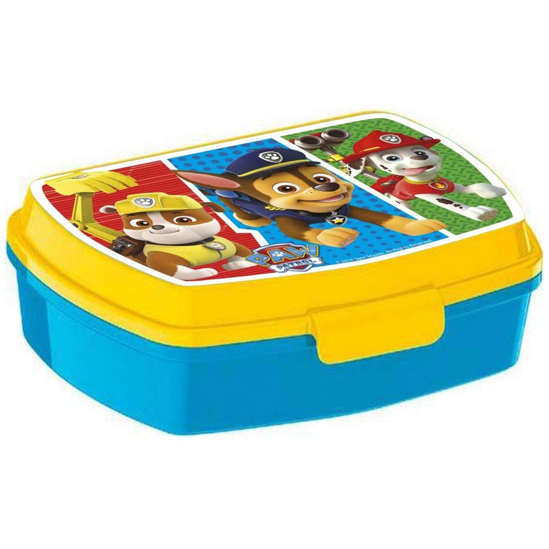 Fiambrera con diseño de La Patrulla Canina en amarillo y azul (ideal para niño): Amazon.es: Hogar