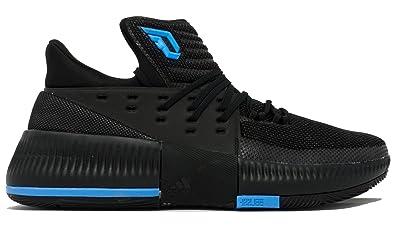 brand new 8d627 f1cff adidas Dame 3 Shoe Men s Basketball Black Size  14 UK