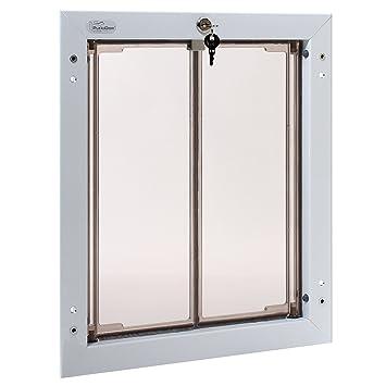 Amazon Plexidor Performance Pet Doors Large White Door Mount