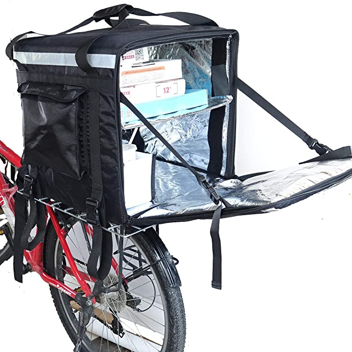 The Best Food Delivery Bag For Bikes