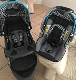 baby trend ez ride 5 travel system hounds tooth baby. Black Bedroom Furniture Sets. Home Design Ideas