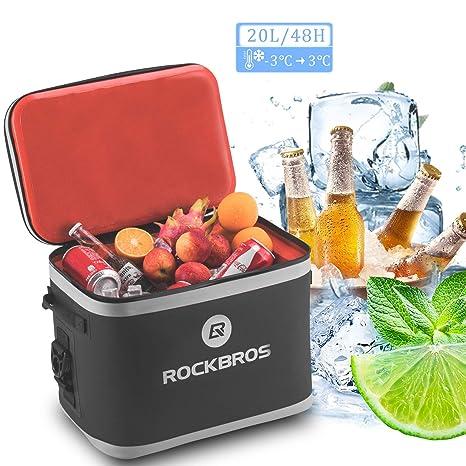 ROCKBROS Bolsa Nevera Refrigerante Portátil Isotermica 48h ...