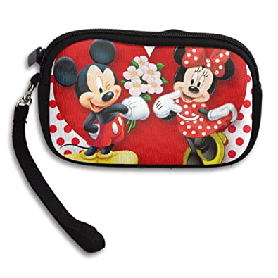 Amazon.com: Minnie Mouse mouse de Mickey Mouse Wristlet ...