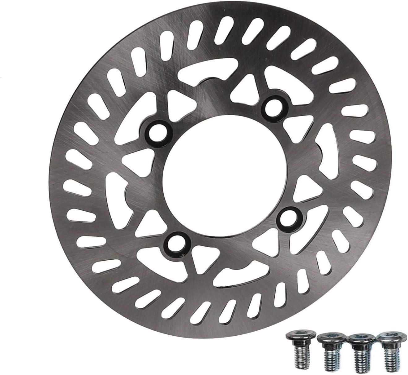 WPHMOTO 210mm Front Brake Disc Rotor for Dirt Pit Bike 70cc 90cc 110cc 125cc 150cc 160cc CRF KLX SSR TTR