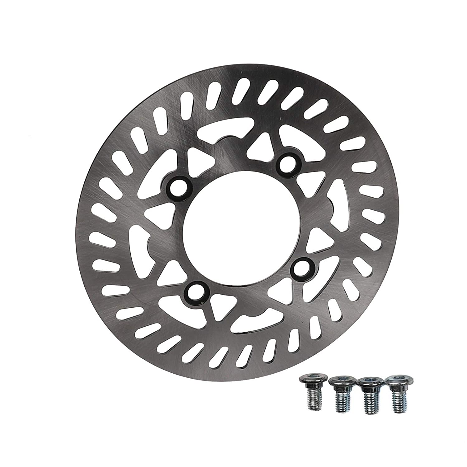 ZXTDR 70//100-17 Wheel Tire and Rim Inner Tube With 15mm Bearing /& 210mm Front Brake Disc Rotor for Dirt Pit Trail Bike