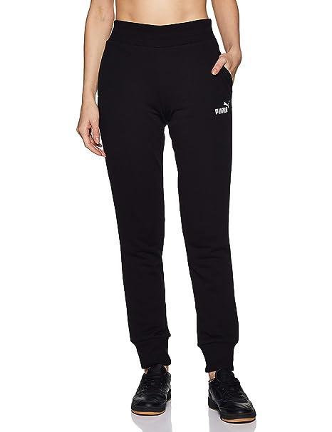 PUMA ESS Sweat Pants TR Cl Chándal, Mujer, Cotton Black, 3XL ...