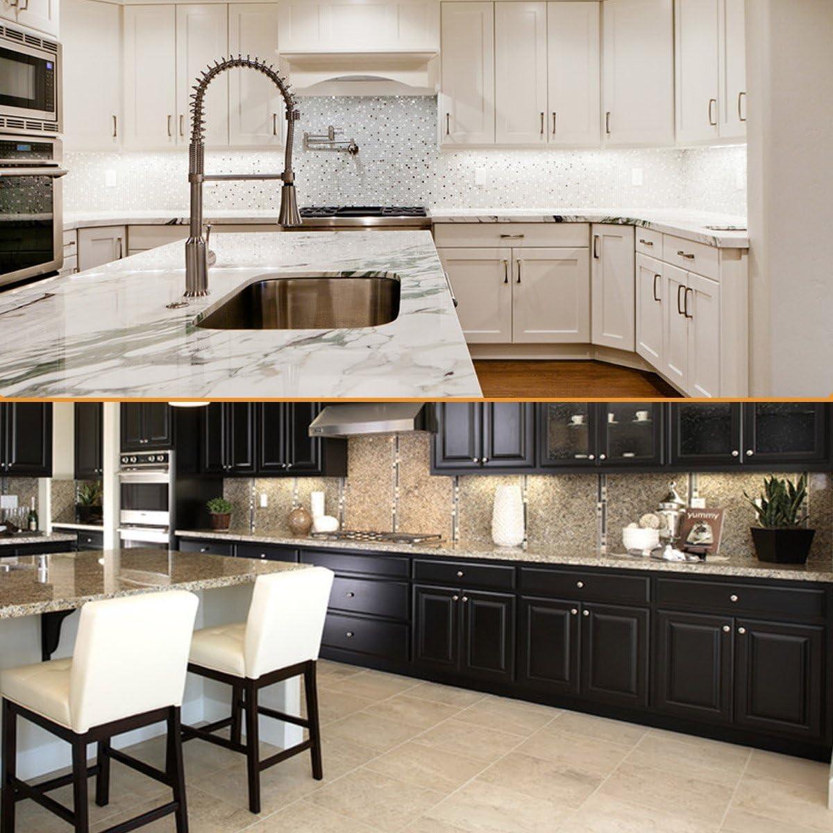 Litever Kitchen Under Cabinet LED Lighting Kits,3 PCS 1 ...