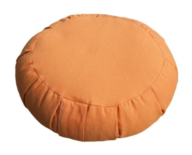 Amazon.com: Buckwheat Yoga/Meditation Cushion – Round Zafu ...