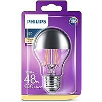 Philips Ledlamp, vervangt 48 W, EEK A++, E27, warmwit (2700 Kelvin), 620 lumen, helder, kopspiegellamp