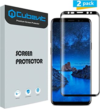 Protector de Pantalla Samsung Galaxy S9, Cubevit [2 Pack ...