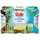 Dole Pineapple Juice, 6 Ounce (Pack of 6)