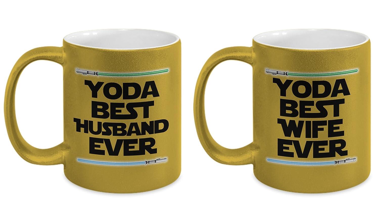 Amazon Yoda Best Husband And Wife Mug