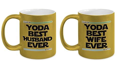Yoda Best Husband And Wife Mug