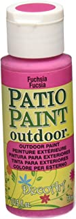 product image for DecoArt DCP42-3 Patio Paint, 2-Ounce, Fuchsia