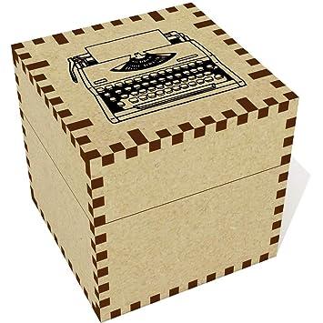 Azeeda Medio (57mm) Máquina de Escribir Joyería Caja (JB00047345)