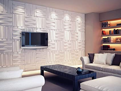 27 Sq.ft. Of 3d Glue On Wall Panels By Threedwall.com