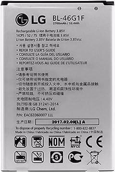 Original LG BL de 46g1 F batería 2800 mAh para LG K10 (2017) X400 ...