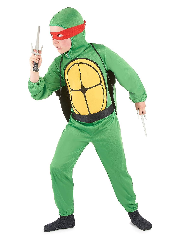 Disfraz tortuga luchadora niño - 7 - 9 años: Amazon.es ...