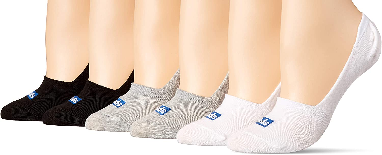 Show/Liner) Black Assorted, Shoe Size