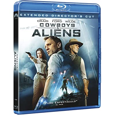 Cowboys & Aliens (Referencia 1 Disco) [Blu-ray]