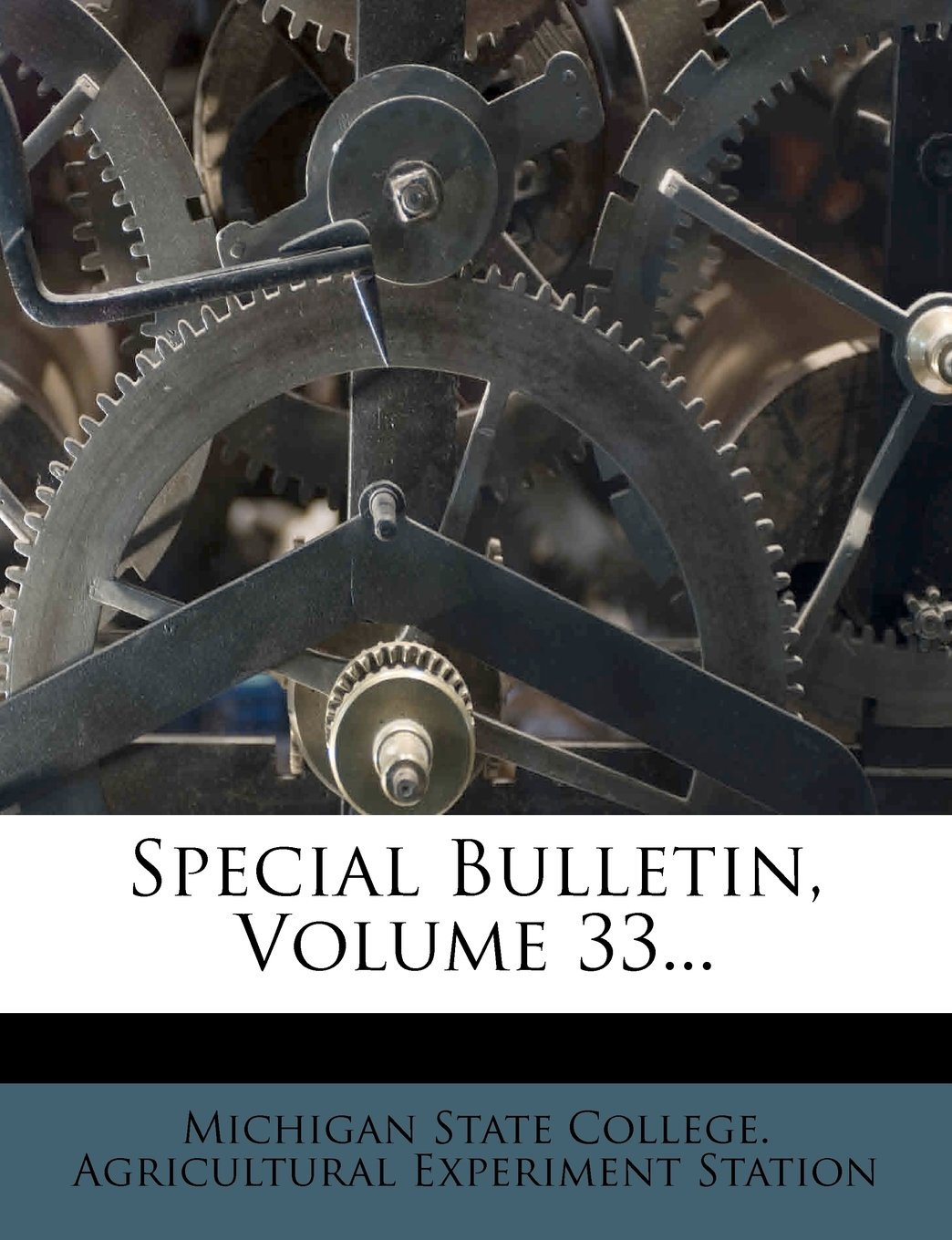 Download Special Bulletin, Volume 33... pdf