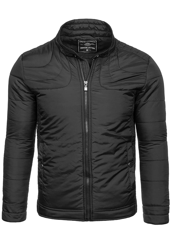 BOLF Herrenjacke Herren Jacke Steppjacke Moderne Jacke ohne Kapuze DAVID COPPER 3008