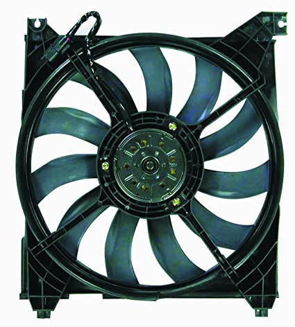 Depo 323-55007-100 Radiator Fan Assembly