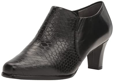 Trotters Women's Jolie Ankle Boot, Black Metalic Snake, ...