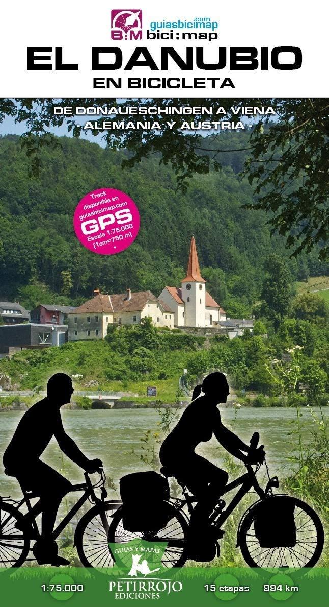 El Danubio en bicicleta: de Donauechingen a Viena: 22 Bici:map: Amazon.es: Horvath Mardones, Valeria, Datcharry Tournois, Bernard, Horvath Mardones, Valeria, Datcharry Tournois, Bernard: Libros