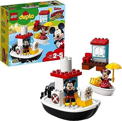 LEGO DUPLO Disney - Barco de Mickey (10881) Juego para bebes ...