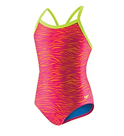 22bf20bf051e5 Speedo Women's Pro Lt Flipturns Propel Back One Piece Swimsuit, Blue/Pink/Rainbow  Tie Dye, Size 6/32: Amazon.in: Sports, Fitness & Outdoors