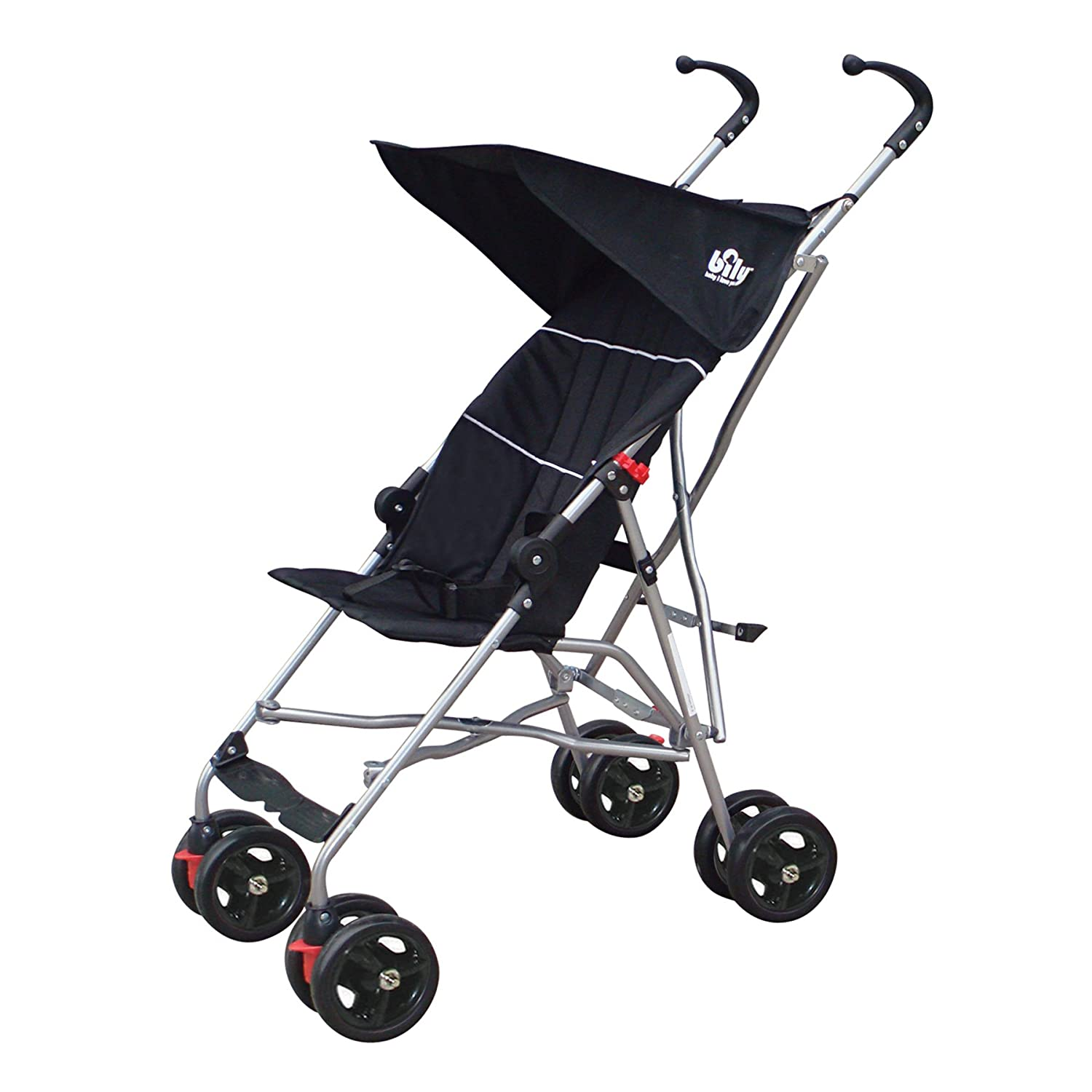 Bily Umbrella Stroller, Black BSB1GBK