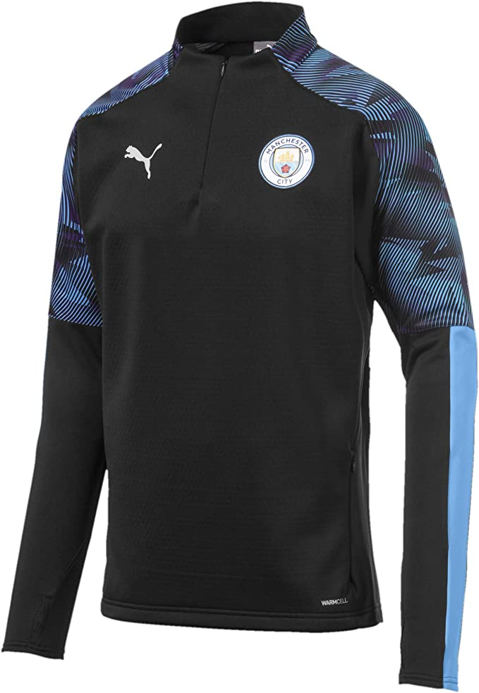 Mens Official Puma Casuals T-shirt Manchester City F.C