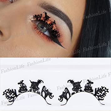 35a5fc42149 Party Eyes Temporary Lace Tattoo Lace False Eyelashes Halloween Make-Up  Stickers Halloween - ETP274