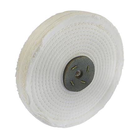 """Polishing Mop White Close Stitch 4/""""x1//2/"""""""