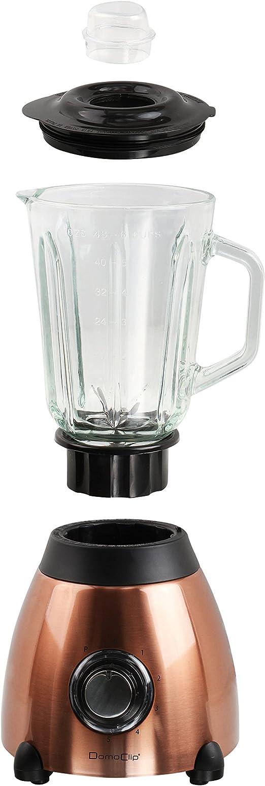 Acero inoxidable batidora de cristal (1,5 litros Smoothie maker ...