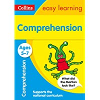 Comprehension Ages 5-7: KS1 English Home Learning and School Resources from the Publisher of Revision Practice Guides…