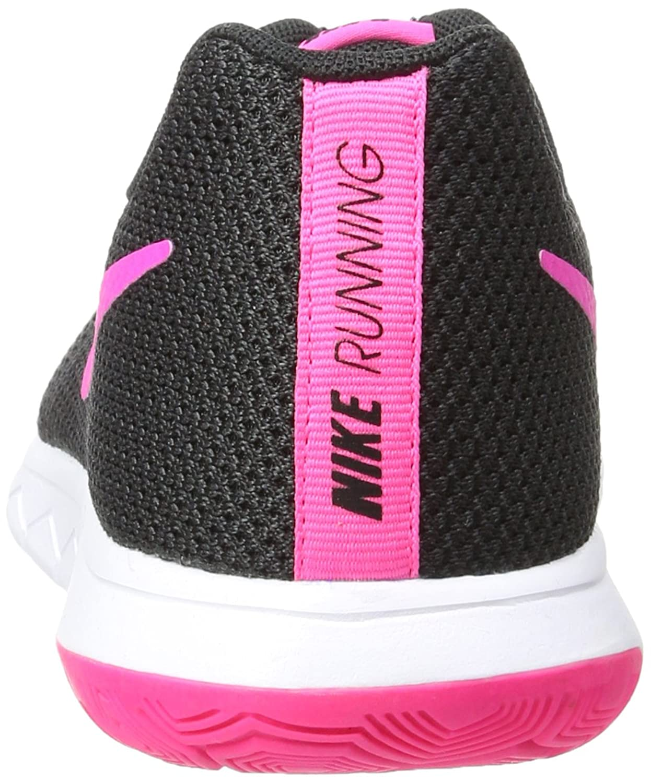 Nike Flex Erfaring Damer Joggesko Sort / Rosa Yeezy lab8SmWmS