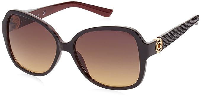 Guess GF0275_52F, Gafas de Sol para Mujer, Negro (Nero/Rosso), 58: Amazon.es: Ropa y accesorios