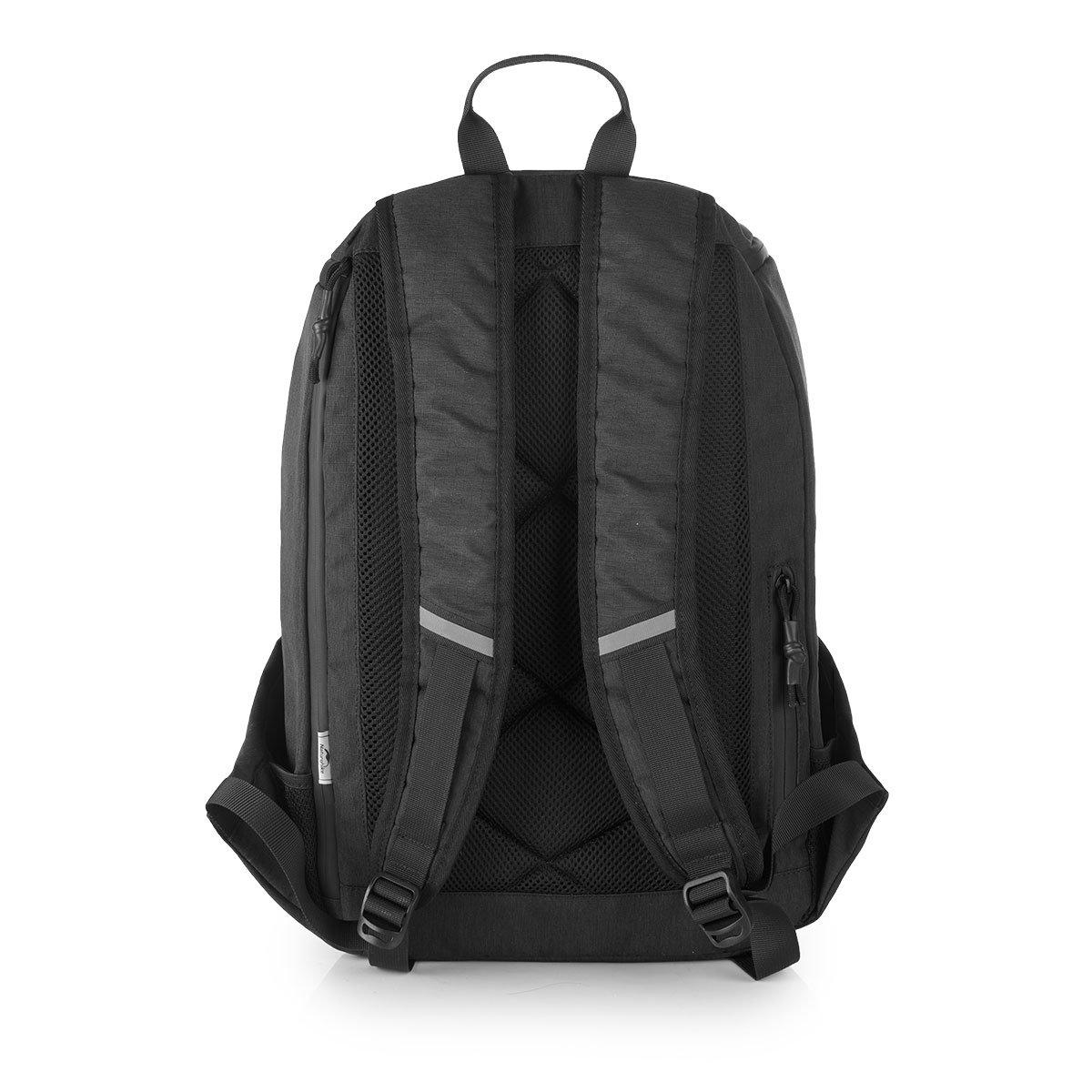 Naturehik Mochila para portátil con puerto de carga USB, bolso ligero y delgado para computadora portátil, repelente al agua, mochila de ocio para hombres y ...