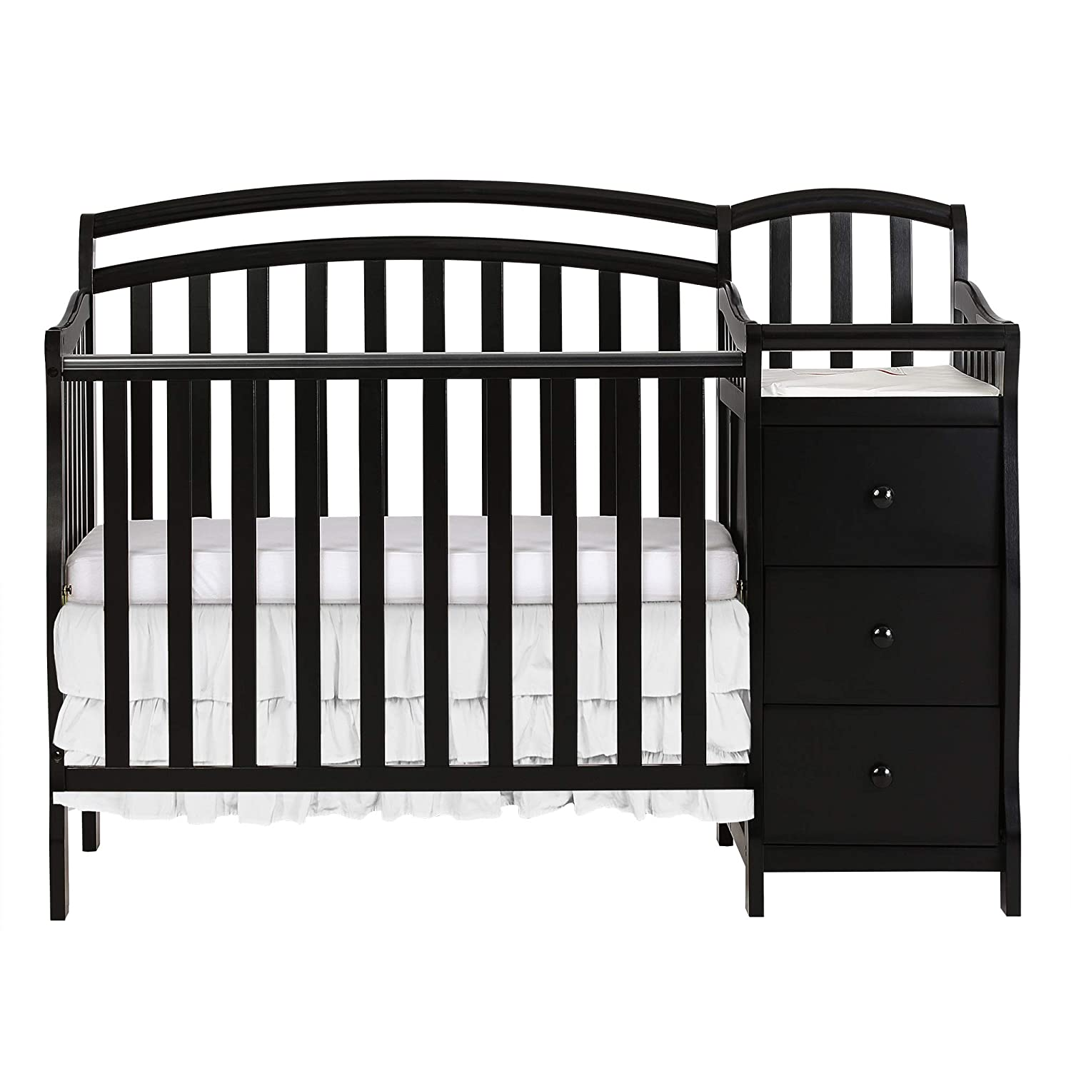 Dream On Me Casco 3 In 1 Mini Crib And Dressing Table